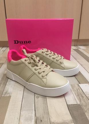 Кожаные кроссовки dune london