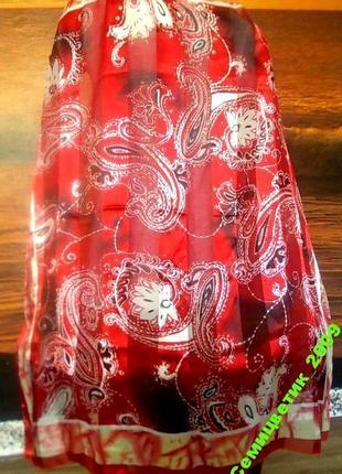 Распродажа! очень красивый платок laura kent 90х90см