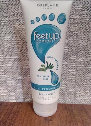 Крем-антиперспирант для ног feet up comfort
