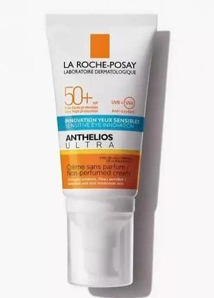 Солнцезащитный крем для кожи лица и кожи вокруг глаз la roche-posay anthelios ultra
