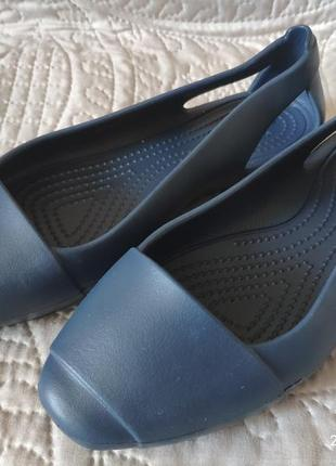 Балетки crocs, размер w5