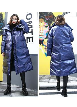 Пальто жилет 2 в 1 осень-зима отстегивающиеся рукава новое оверсайз