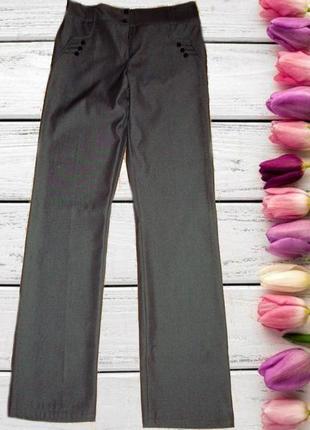 🍁🍁стильные женские брюки осень/весна средняя посадка т- серый турция 🍁🍁🍁