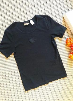 Черная футболка #harley davidson #оригинал