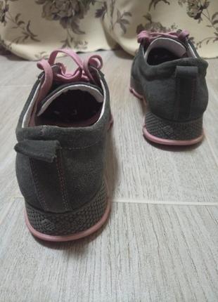 Женские замшевые кожаные кроссовки2 фото