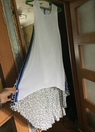Платье с лампасами👗