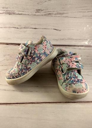 Цветочные туфли