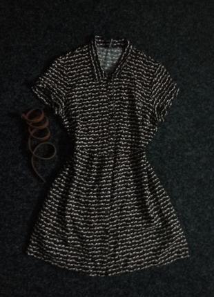 Платье рубашка халат