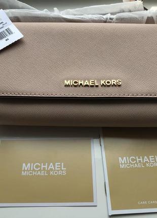 Кожаная сумочка michael kors jet set travel, оригинал, сумка