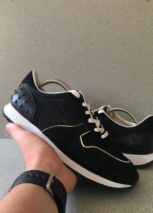 Кроссовки tod's чёрные 39 1/2 размер