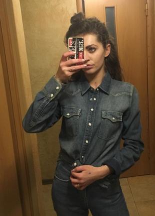 Рубашка джинсовая levi's оригинал