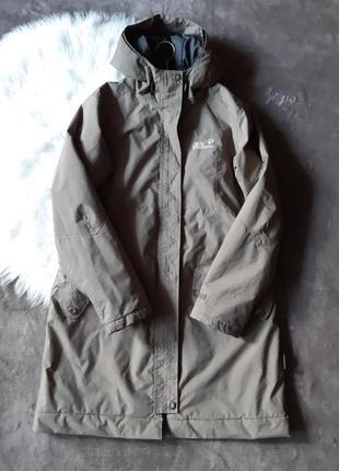 Женская куртка  дождевие stormlock hyproof jack wolfskin