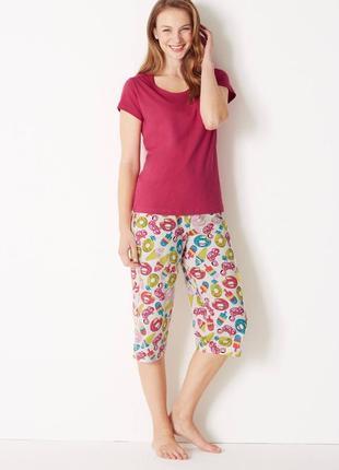 Пижама женская от marks&spencer. размер 6-8