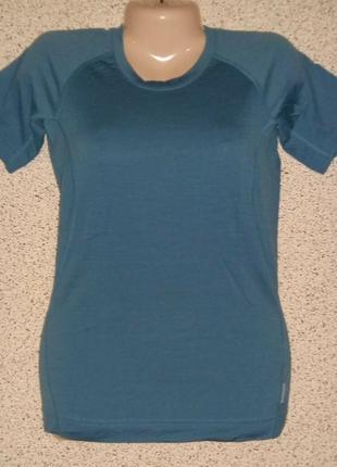 Термобелье футболка ,регланы от бренда kathmandu оригинал 100% меринос шерсть