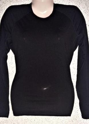 Теплый женский термореглан от бренда icedreaker 100% new zealand merino