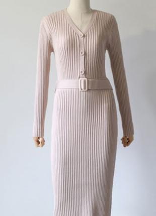 Трикотажное платье. м-l
