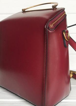 Кожаная сумка/рюкзак10 фото