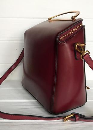 Кожаная сумка/рюкзак3 фото
