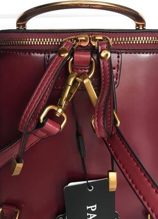 Кожаная сумка/рюкзак6 фото