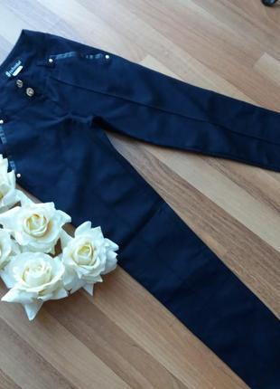 Синие брюки для девушки подростка,26 размер