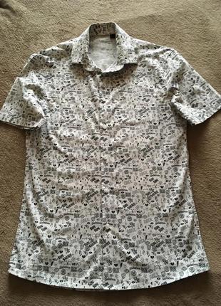 Рубашка asos с трендовым принтом для подростка