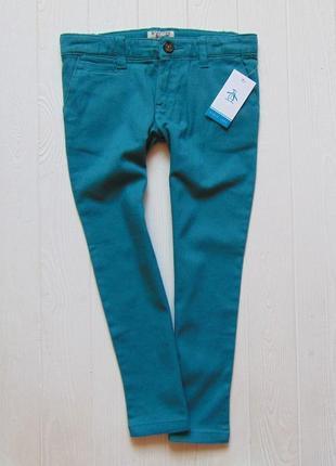 Penguin. размер 5-6 лет. новые яркие стрейчевые узкие джинсы для мальчика