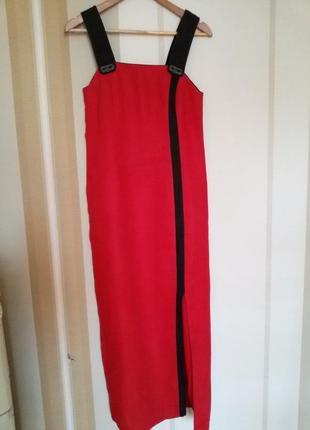Платье сарафан 100% лен!