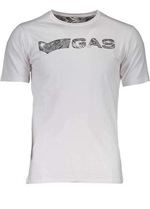 Мужская футболка итальянского premium бренда gas, m, xl