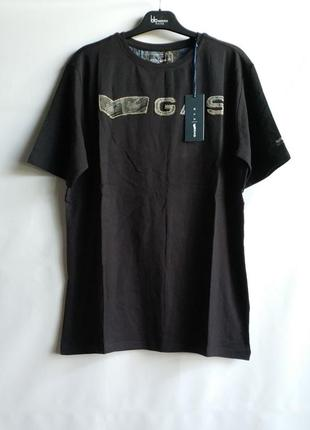 Мужская футболка итальянского premium бренда gas, m, l