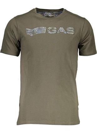 Мужская футболка итальянского premium бренда gas, m-xxl