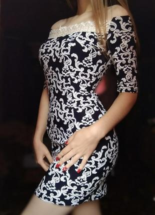 Новое шикарное вечернее платье с открытыми плечами