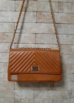 Кожаная сумка италия balandi