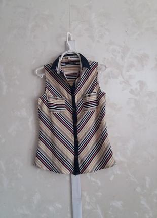 Блуза-рубашка в  полоску atmosphere