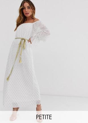Tfnc романтична біла сукня-плісе в принт