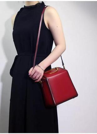 Кожаная сумка/рюкзак2 фото