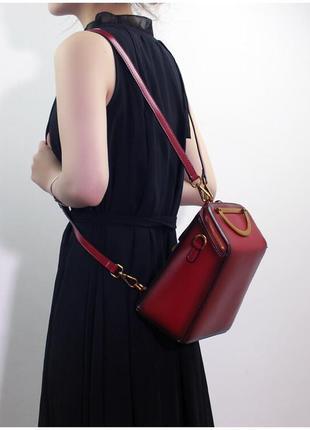 Кожаная сумка/рюкзак1 фото