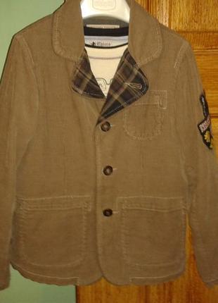 Костюм chicco 116-122(пиджак, брюки, реглан)