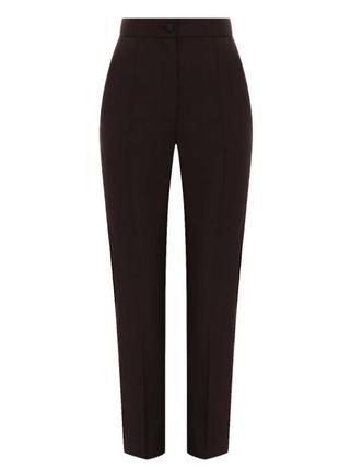 Укороченные актуальные, базовые, классические брюки со стрелкамиот joymiss
