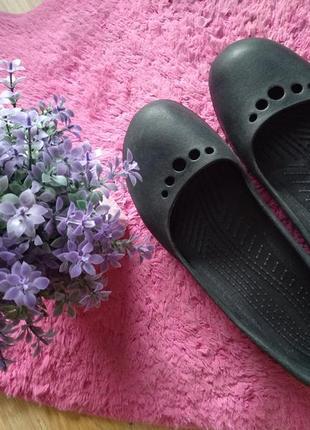 Балетки тапочки женские crocs (крокс) 9