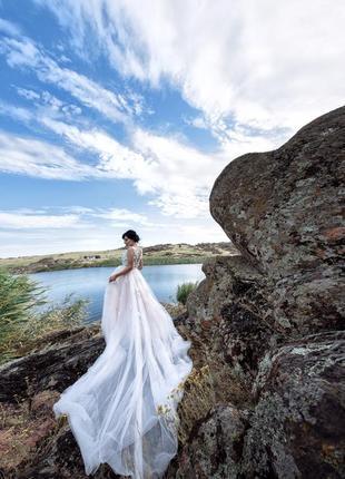 Свадебное платье трансформер xs