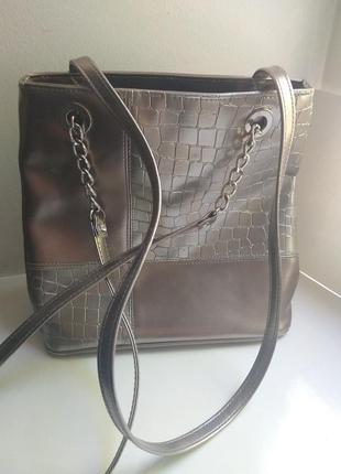 Срібляста сумка