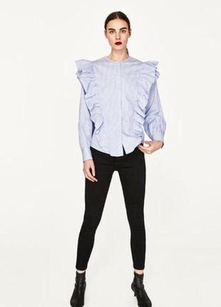 Базовые чёрные джинсы zara