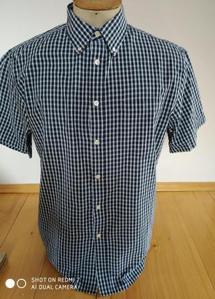 Мужские рубашка клетка розмір-40-50
