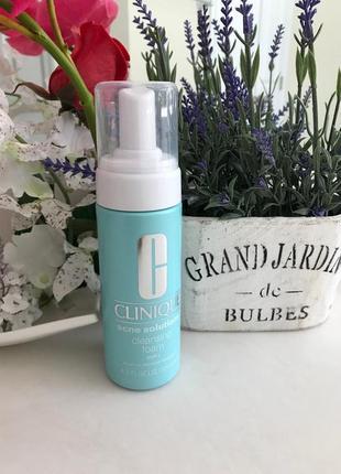 Clinique пенка для умывания для проблемной кожи anti-blemish solutions cleansing125мл