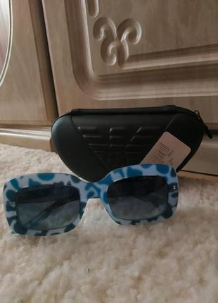 Очки emporio armani голубые ea9850 армани с кодом