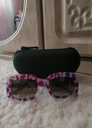 Очки emporio armani розовые леопардовые ea9850 армани
