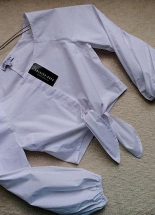 Стильный топ блуза рубашка