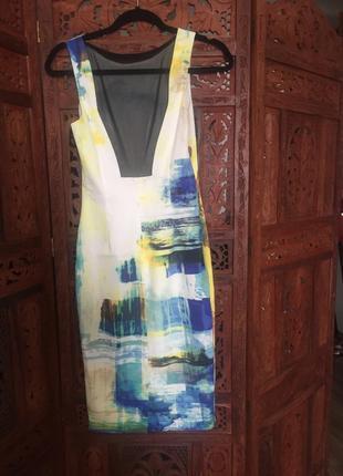 Коктейльное облегающее платье karen millen