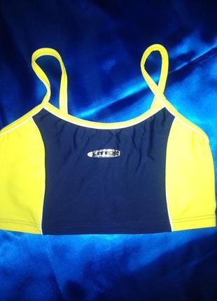 Яркий спортивный топ litex для бега, фитнеса, йоги, танцев