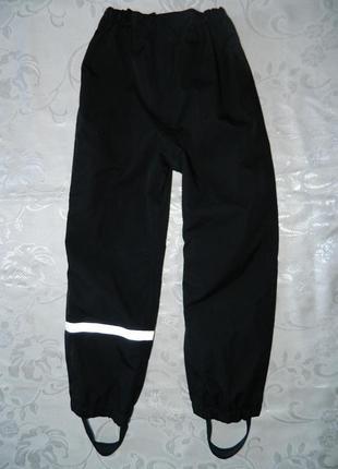 Демисезонные брюки h&m - р. 122